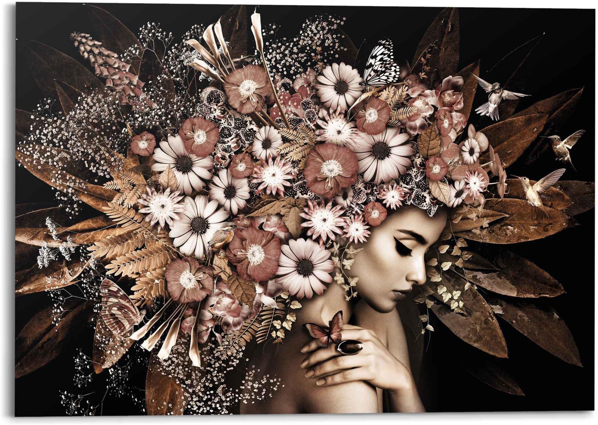 Op zoek naar een Reinders! artprint bloemenzee vrouw - vlinder - struik - romantiek (1 stuk)? Koop online bij OTTO