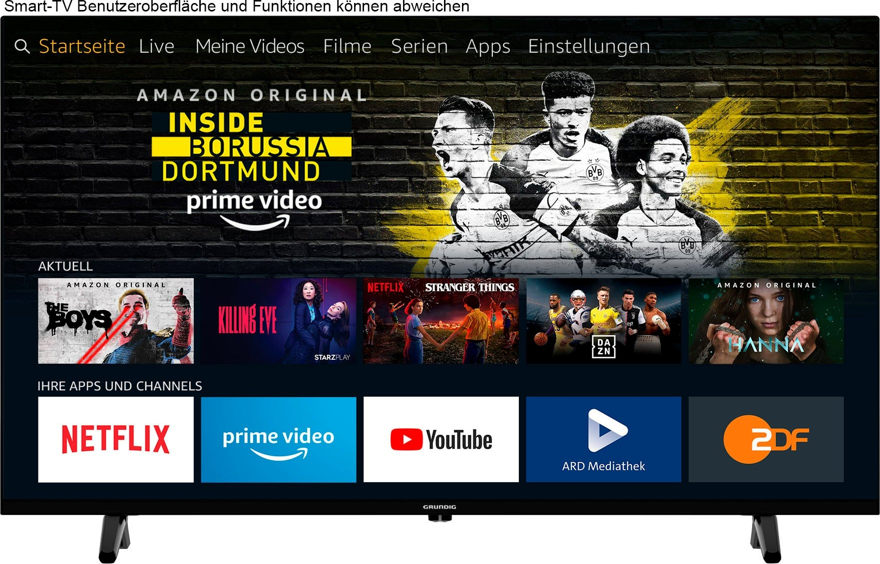 Grundig »43 VOE 61 - Fire TV Edition« LED-TV nu online bestellen