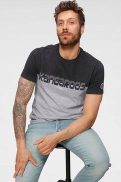 kangaroos shirt met ronde hals met logo-frontprint