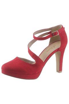 s.oliver highheel-pumps rood