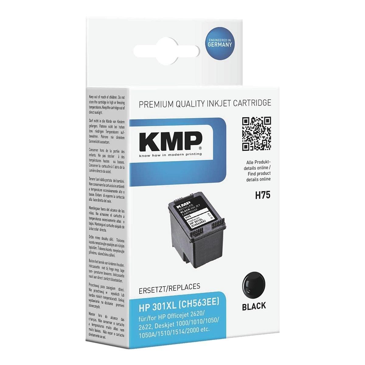 Kmp Inktpatroon vervangt HP »CH563EE« Nr. 301XL voordelig en veilig online kopen