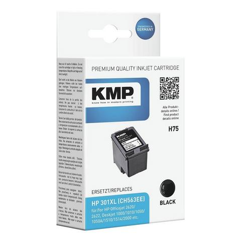 KMP Inktpatroon vervangt HP »CH563EE« Nr. 301XL