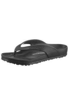 birkenstock teenslippers honolulu holiday brights met voorgevormd voetbed zwart
