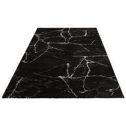vloerkleed, »juliet«, leonique, rechthoekig, hoogte 12 mm, machinaal geweven zwart