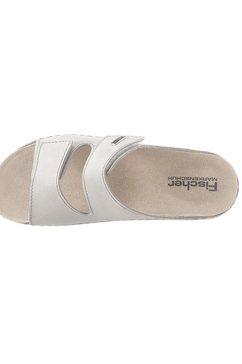 fischer slippers grijs