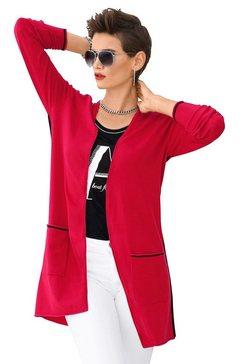 création l vest in open model rood