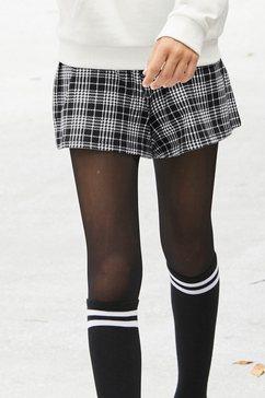 cfl meisjes-panty met elastische band in set van 2 zwart
