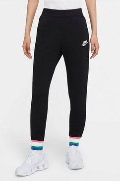 nike joggingbroek »nsw heritage pant fleece women's joggers« zwart