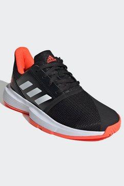adidas performance tennisschoenen courtjam zwart
