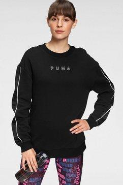 puma sweatshirt style cat high-neck crew wmns zwart