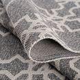 carpet city vloerkleed cotton vlakke pool, puur katoen, woonkamer grijs