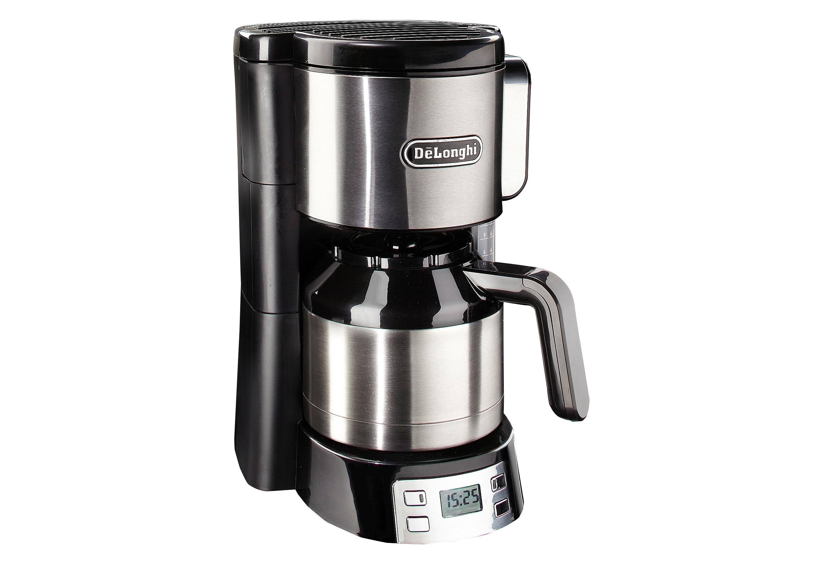 Op zoek naar een De'longhi DeLonghi Koffiezetapparaat ICM 15750, met thermoskan, edelstaal/zwart? Koop online bij OTTO