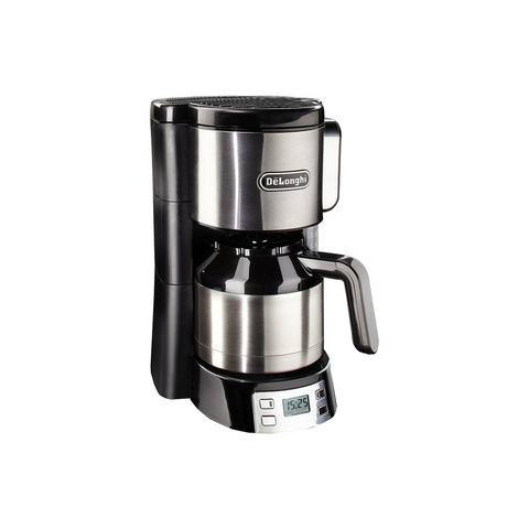 DeLonghi koffiezetapparaat ICM 15750, zwart/zilverkleur