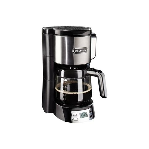 DeLonghi koffiezetapparaat ICM 15250, zwart/zilverkleur