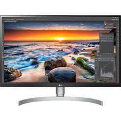 """lg gaming-monitor 27ul650, 68,58 cm - 27 """", 4k ultra hd, inclusief office-gebruikerssoftware microsoft 365 single ter waarde van 69 euro wit"""