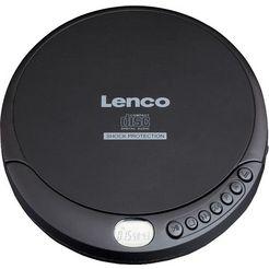 lenco »cd-200« cd-speler zwart