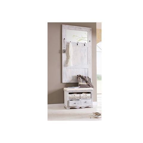 Complete garderobes HOME AFFAIRE Kapstok en zitbank Used-look 780937