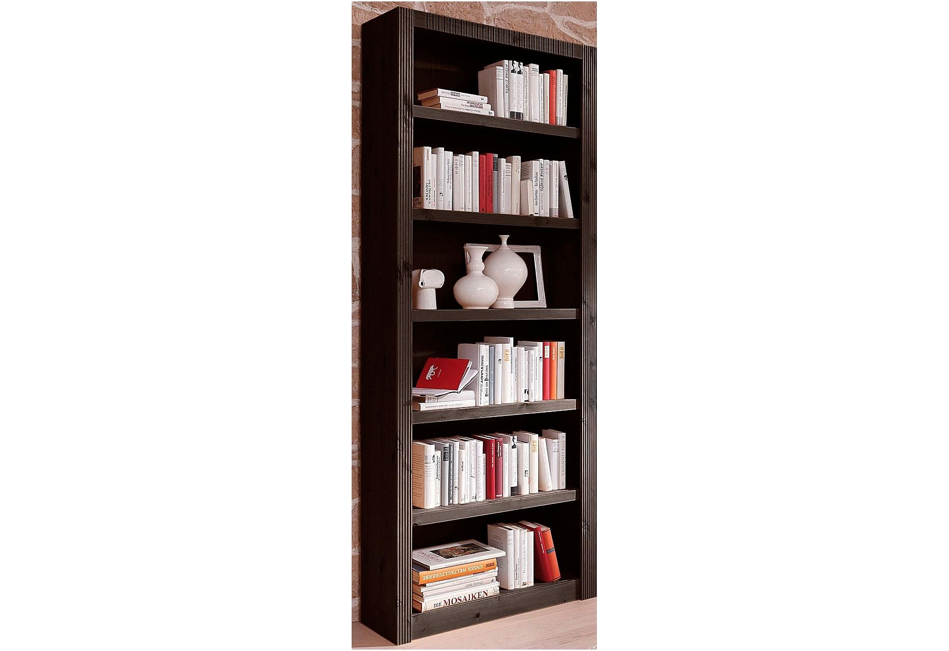 boekenkast basiselement breedte 825 cm bruin