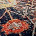 delavita vloerkleed artigova geschikt voor binnen en buiten, woonkamer multicolor