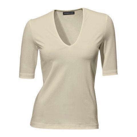 Shirt met V-hals