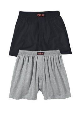 h.i.s boxershort (set van 2) grijs