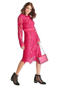 rick cardona by heine kanten jurk rood