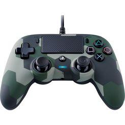 nacon playstation 4-controller ps4 controller color edition (camo green) groen