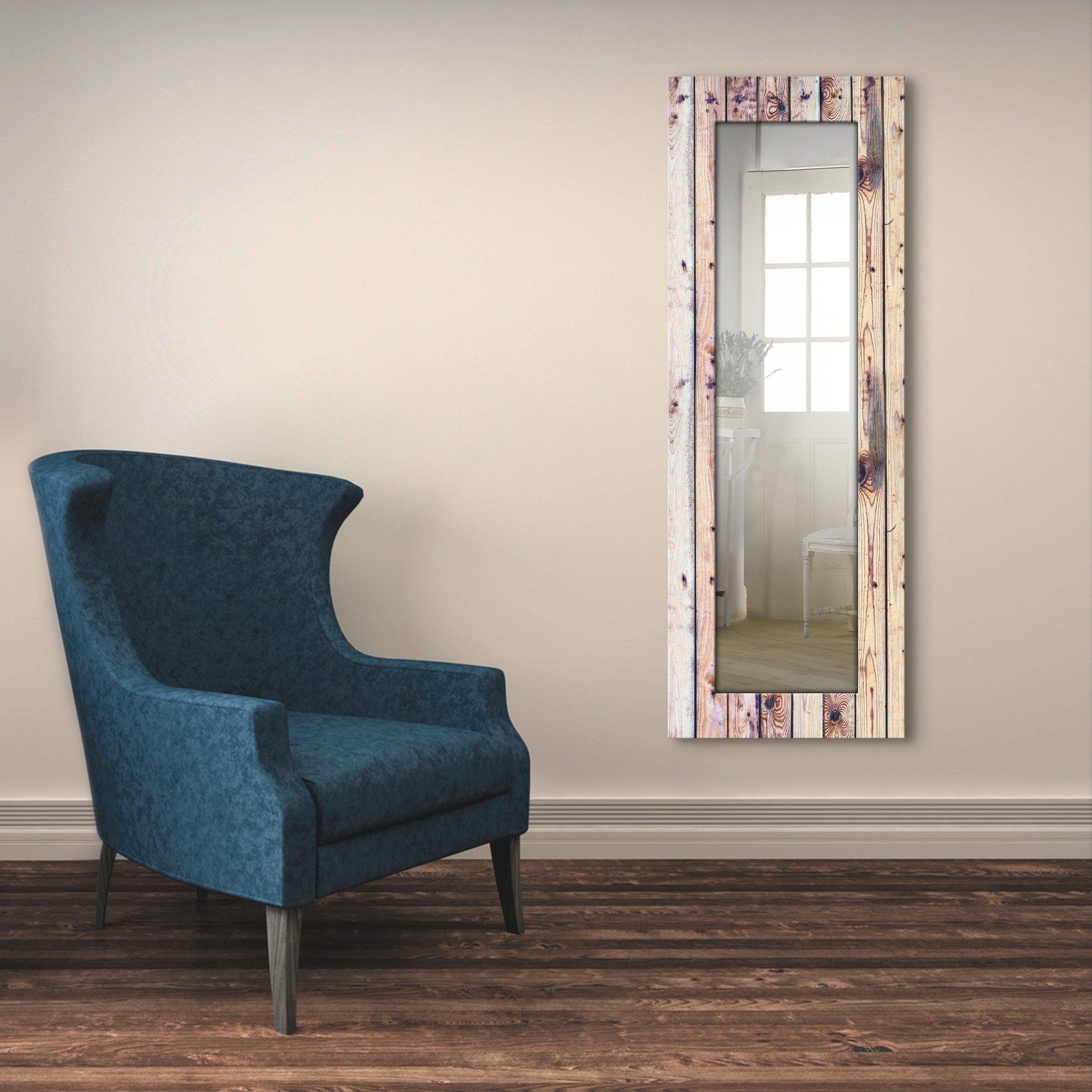 Artland wandspiegel Witte vintage-achtergrond ingelijste spiegel voor het hele lichaam met motiefrand, geschikt voor kleine, smalle hal, halspiegel, mirror spiegel omrand om op te hangen nu online bestellen