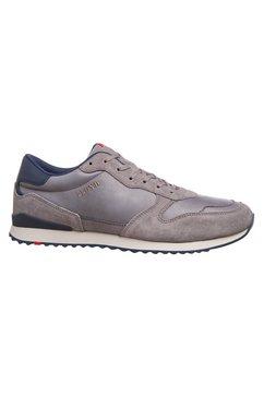 lloyd sneakers edmond met een uitneembare binnenzool grijs