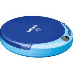 lenco »cd-011« cd-speler blauw