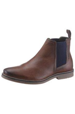 bugatti chelsea-boots vando met shock-absorber bruin