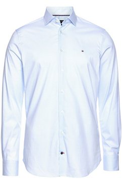 tommy hilfiger overhemd met lange mouwen cl mini geo print shirt