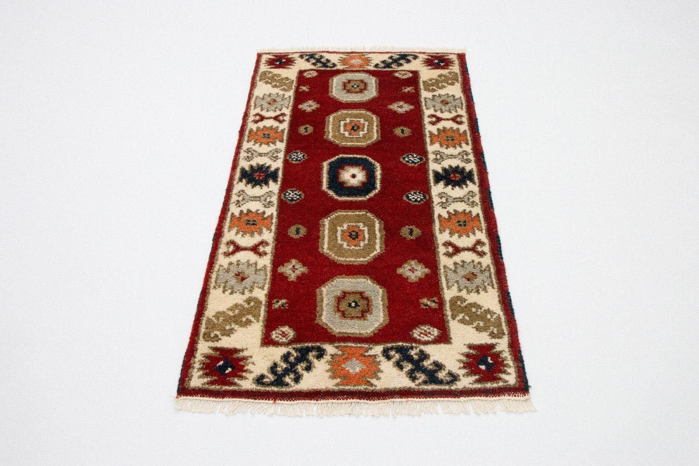 morgenland wollen kleed Kazak Teppich handgeknüpft rot goedkoop op otto.nl kopen
