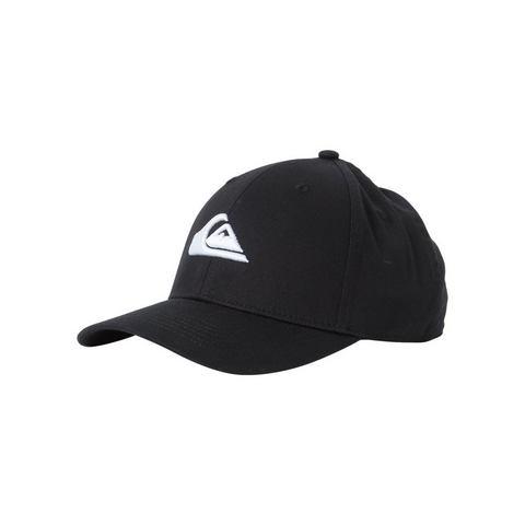 Quiksilver-snapback cap Decades in zwart