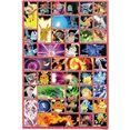 reinders! poster pokemon (1 stuk) multicolor