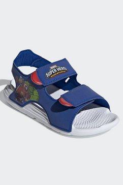 adidas performance sandaaltjes swim blauw