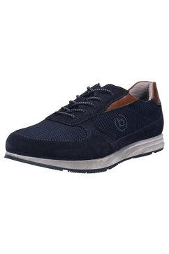 bugatti sneakers marlo revo met logo opzij blauw