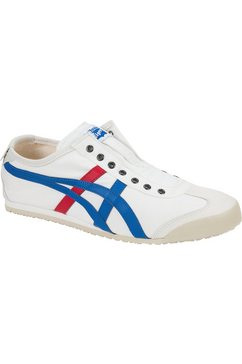 onitsuka tiger sneakers mexico 66 slip-on wit