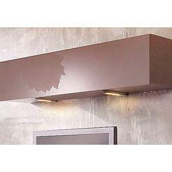 places of style led-onderbouwverlichting (4 stuks) zilver