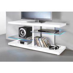 tv-meubel, breedte 120 cm wit