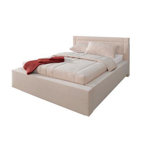 Bed 7 zones koudschuimmatras H3 beige Westfalia Polsterbetten 857363