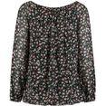 hailys blouse met carmenhals zwart
