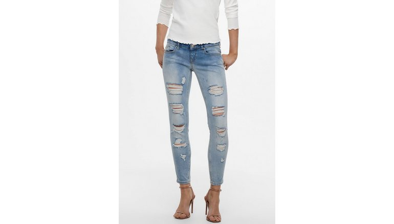 Only ankle jeans ONLCORAL met destroyed details