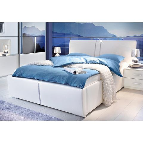 Bed 180x200 cm wit 881661