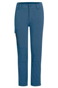 maier sports functionele broek »lucagrow boys« blauw