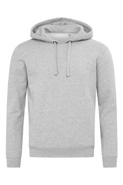 stedman hoodie recycled hooded sweat van gerecycled materiaal grijs