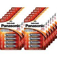 panasonic batterij alkaline, mignon, aa, lr06, 1.5v, pro power, retail blister (48 stuks) goud