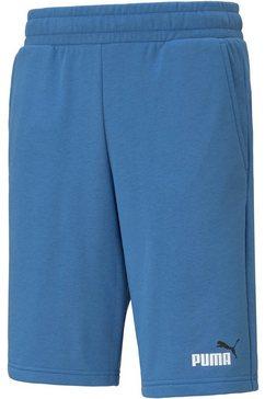 puma sweatshort blauw