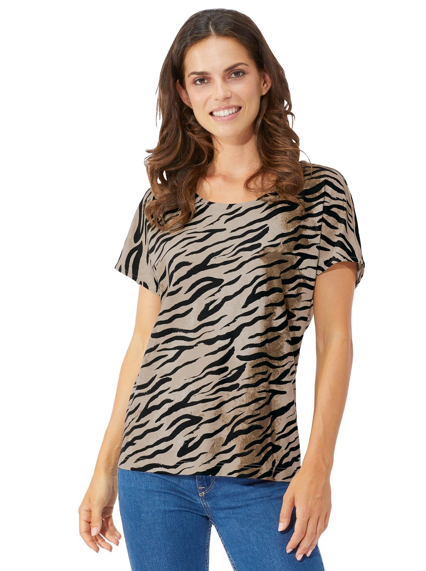 Lady shirt met prachtige animal-print voordelig en veilig online kopen