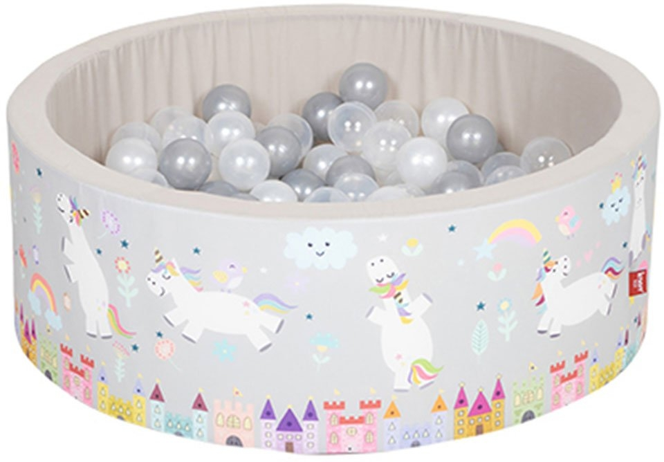 Knorrtoys ballenbak Soft, Unicorn grau bij OTTO online kopen